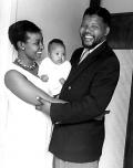 Nelson et Winnie Mandela dans les années 50