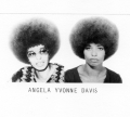 Photo d'Angela Davis émise par le FBI