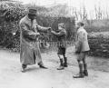 Le boxeur Battling Siki en Irlande dans les années 20